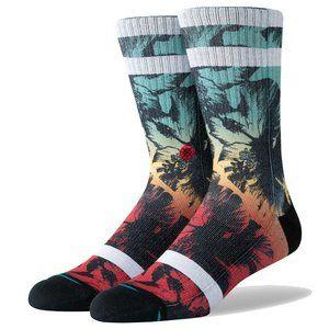 NWT Hibiscus Burn Socks